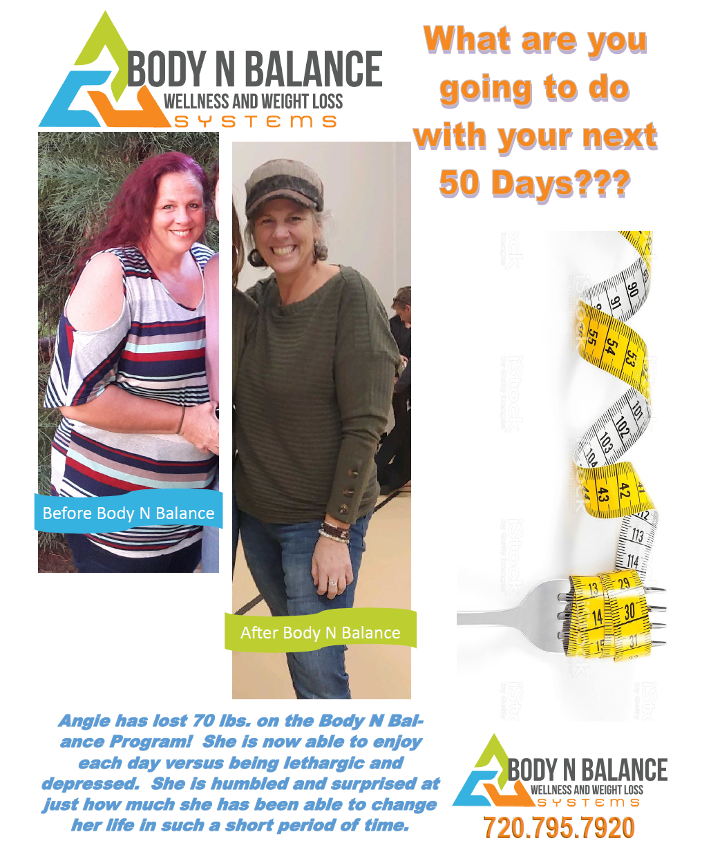 See How Angie's story of losing 70 pounds is JUST THE BEGINNING!